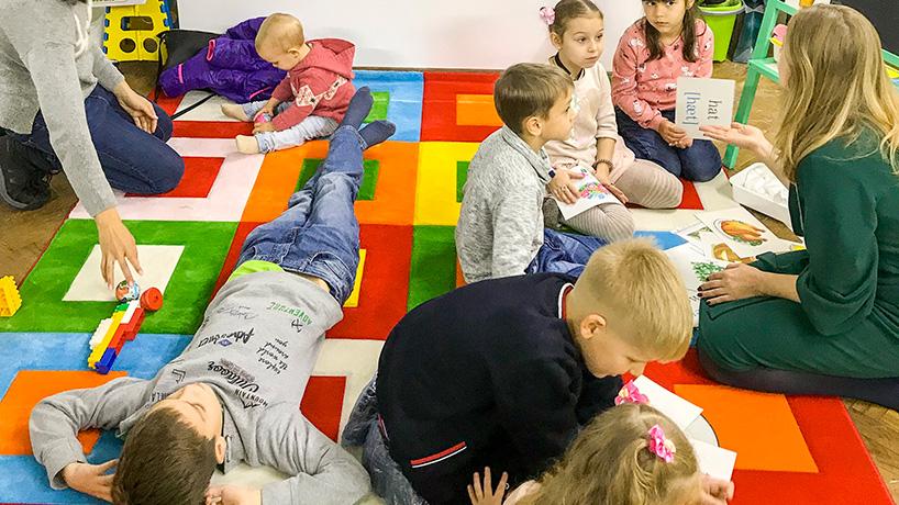 Курс английского языка альтернативными методами для детей