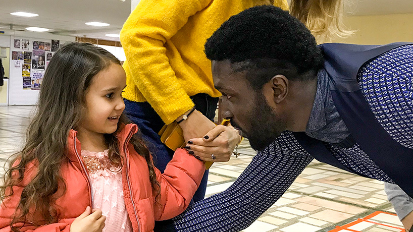 Английский с носителем языка для детей до 12 лет